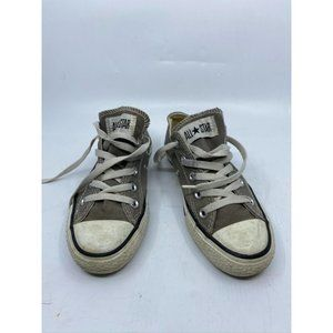 CONVERSE Sneakers White Gray Mens Size 4 Womens 6